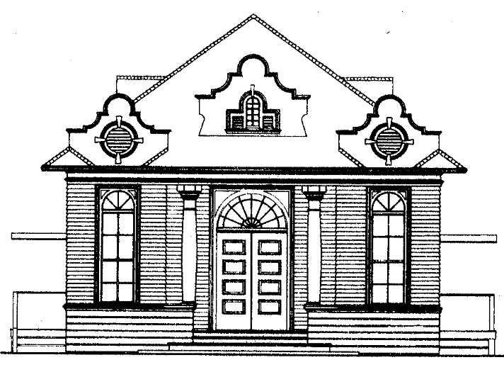 Schoolhouse Drawing