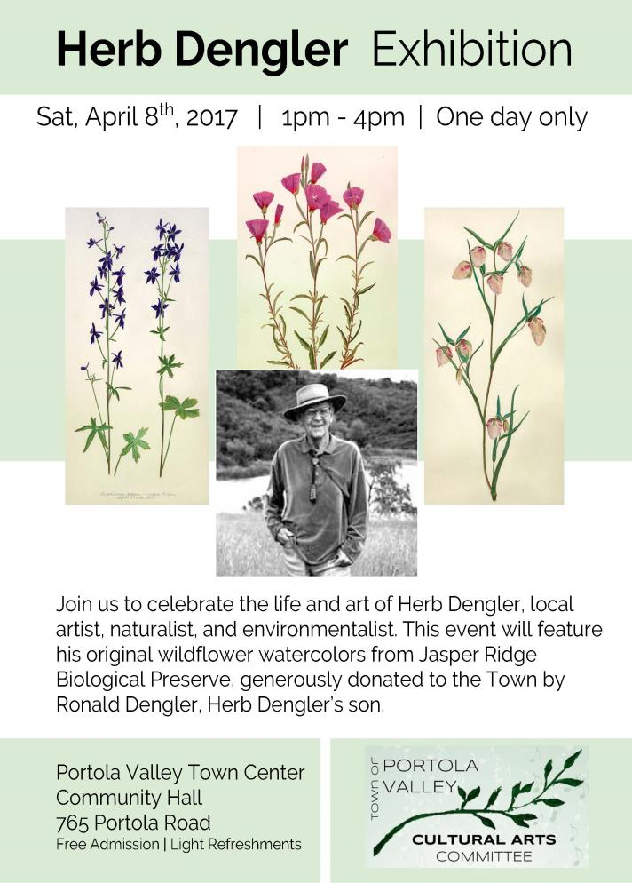 Herb Dengler Exhibition April 2017