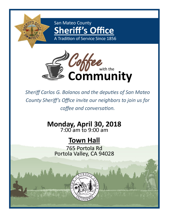 Coffee with the Community, Sheriff Bolanos