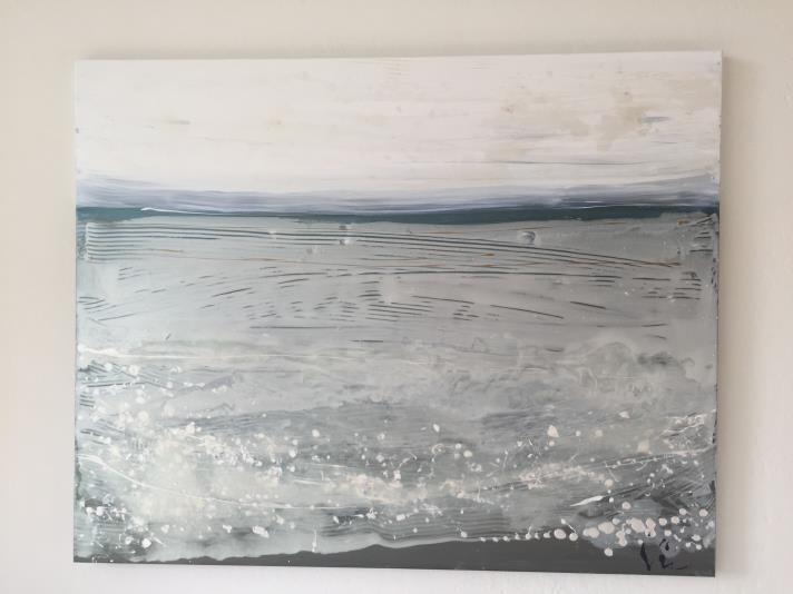 Ginger Pittman Pistilli acrylic on canvas  Paul's Beach