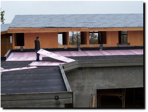 Insulation on Roof Decking