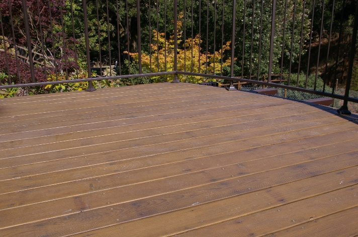 Recycled Redwood Decking