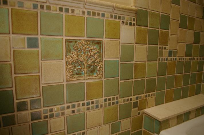 Craftsman Style Bathroom Tile : Craftsman master baths best layout room