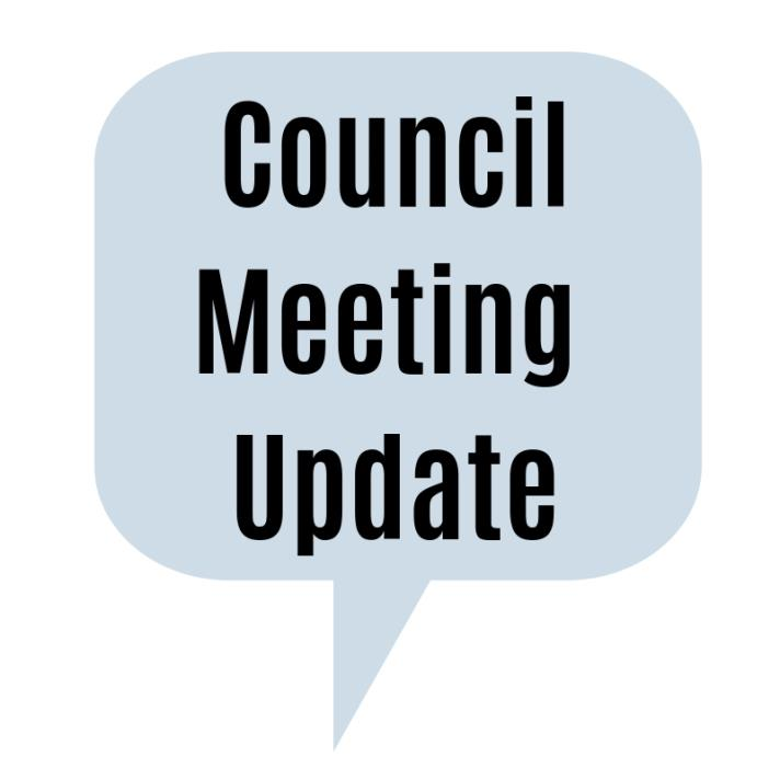 Council meeting update large